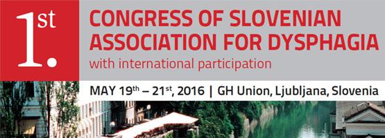 1. međunarodni kongres o disfagiji u Ljubljani
