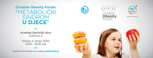 """Croatian Obesity Forum: """"Metabolički sindrom u djece"""""""