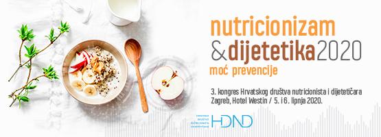 """Prijavite se na kongres """"Nutricionizam & dijetetika 2020"""""""